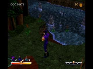 Screenshot Thumbnail / Media File 1 for Ninja - Shadow of Darkness [NTSC-U]